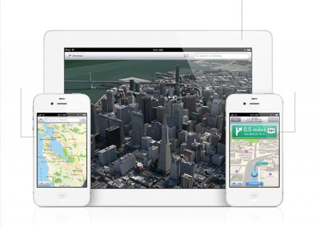 Apple Maps in iOS6