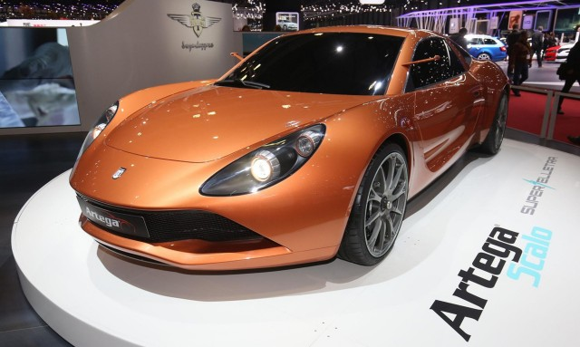 Artega Scalo Superelletra, 2017 Geneva auto show