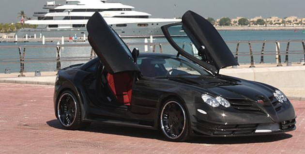The Perfectus Mercedes-McLaren SLR was originally developed for the Abu Dhabi Royal Family and is priced at €1 million