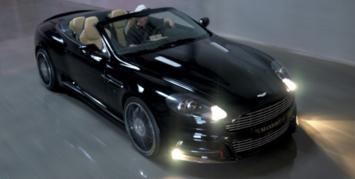 Aston Martin DB9 Coupe and Volante by Mansory