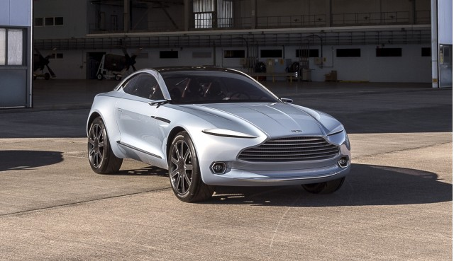 aston martin teases production dbx suv. Black Bedroom Furniture Sets. Home Design Ideas