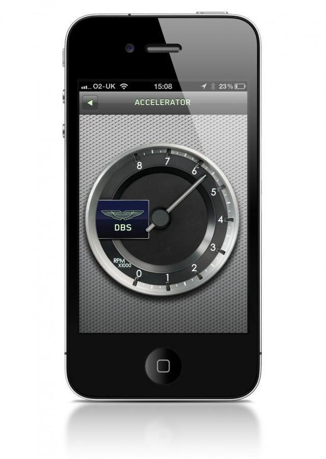 Aston Martin 'Explore' iphone App