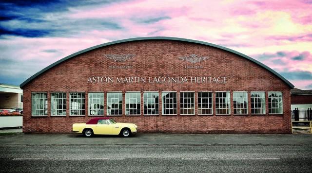 Aston Martin Heritage Showroom in Newport Pagnell, U.K.