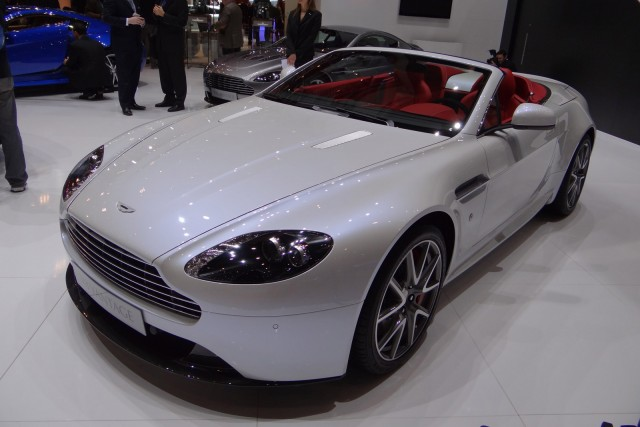 2012 Aston Martin V8 Vantage Roadster live photos