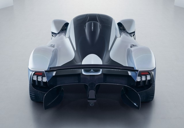 Aston Martin Valkyrie in near-production form