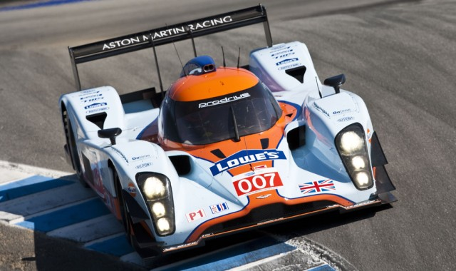 Aston Martin Racing wins ALMS race at Laguna Seca – September 2011