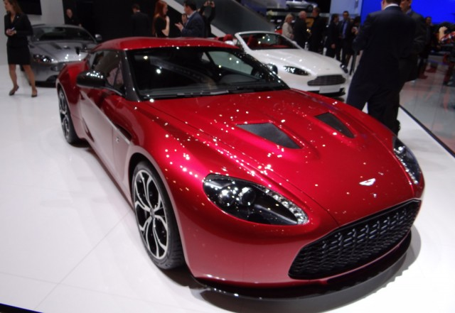 Aston Martin V12 Zagato production model live photos