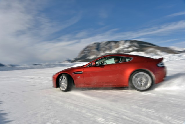 Aston Martin On Ice