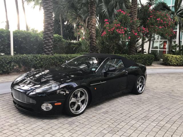 Pedro Martinez is selling his 2003 Aston Martin Vanquish Volante for charity