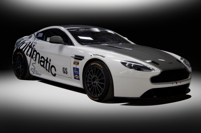 Aston Martin's Vantage GT4 will run in the 2012 Grand-Am series.