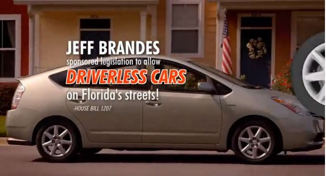 Attack ad against Jeff Brandes from the Committee to Protect Florida