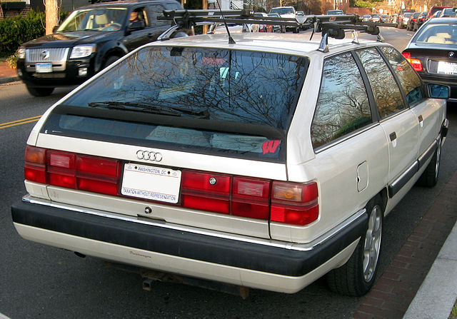 Audi 200 Avant by Wikimedia Commons user IFCAR