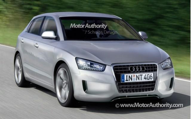 Audi A2 rendering