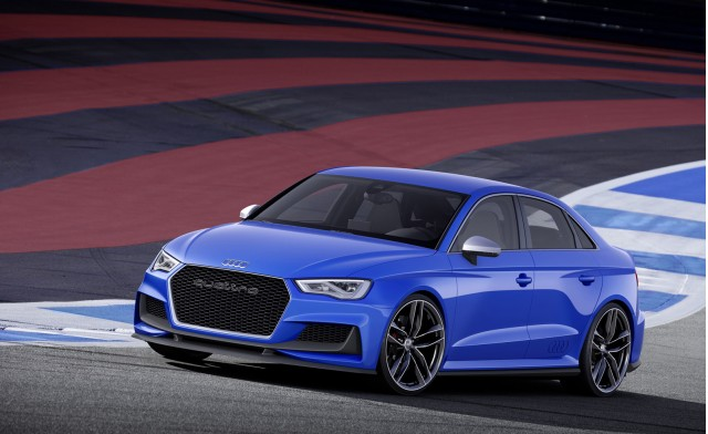 Audi A3 clubsport quattro concept, 2014 Wörthersee Tour