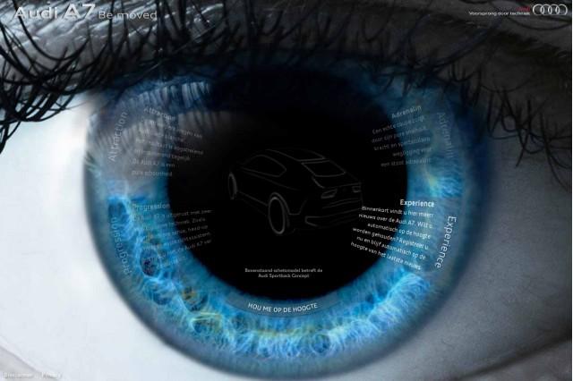 Audi A7 teaser site