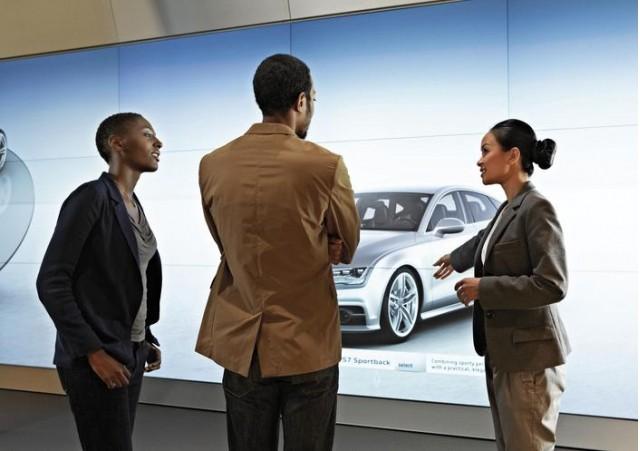 Audi City showroom