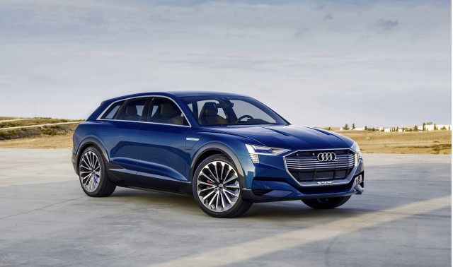 E Tron Sportback Concept Previews Audi Electric Car Coming In 2019