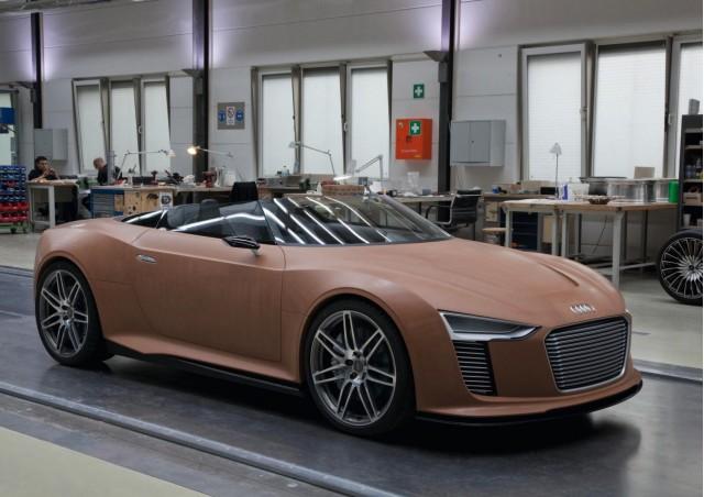Audi e-tron Spyder Concept design process