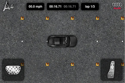 Audi iPhone application