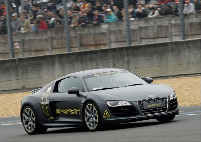 Audi R8 e-tron at Le Mans