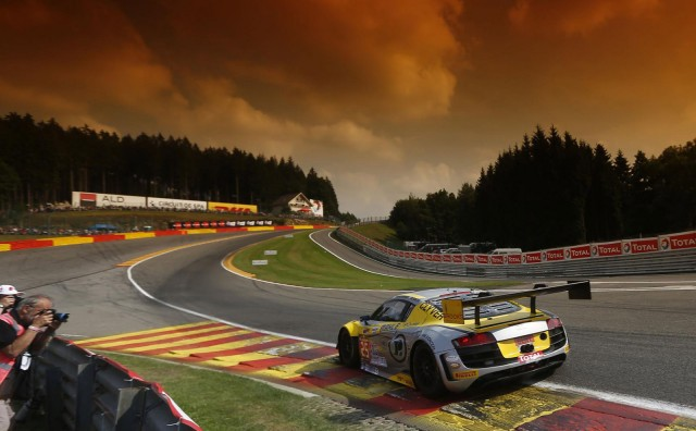 Belgian Audi Club Team Wrt R8 Lms Ultra Wins 2014 Spa 24 Hours