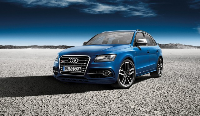 Audi SQ5 TDI Exclusive Concept, 2012 Paris Auto Show