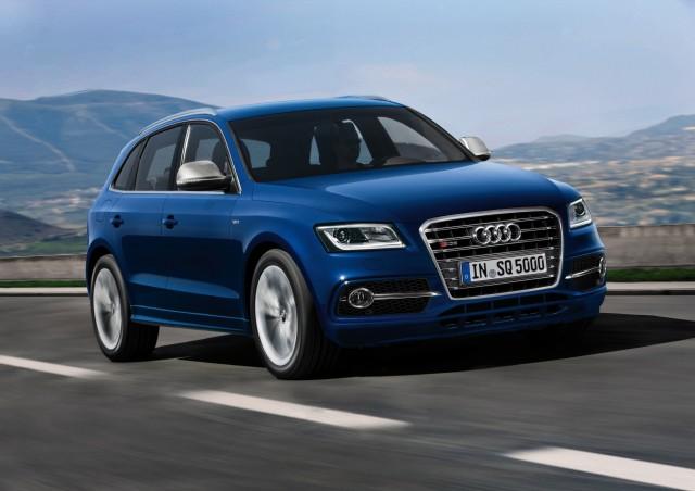 Audi SQ5 twin-turbo performance diesel crossover
