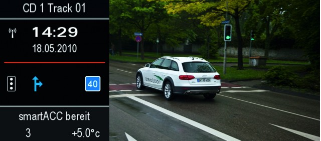 Audi 'travolution' concept for traffic signals