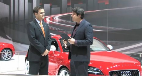 Audi TT RS Q&A at the 2011 Chicago Auto Show