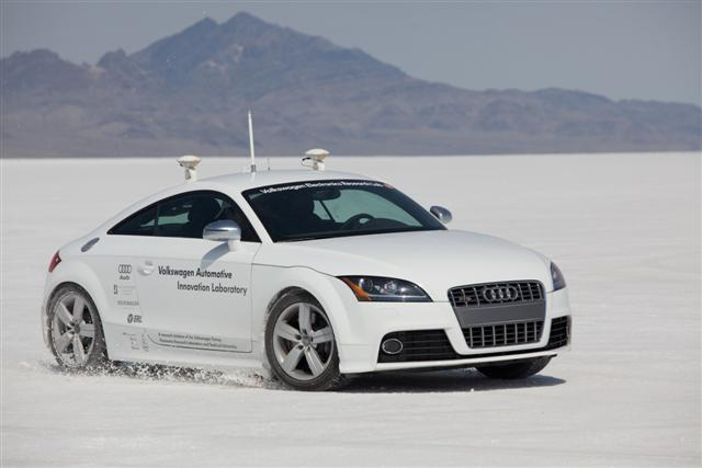 "Audi TTS ""Shelley"" Autonomous Car"
