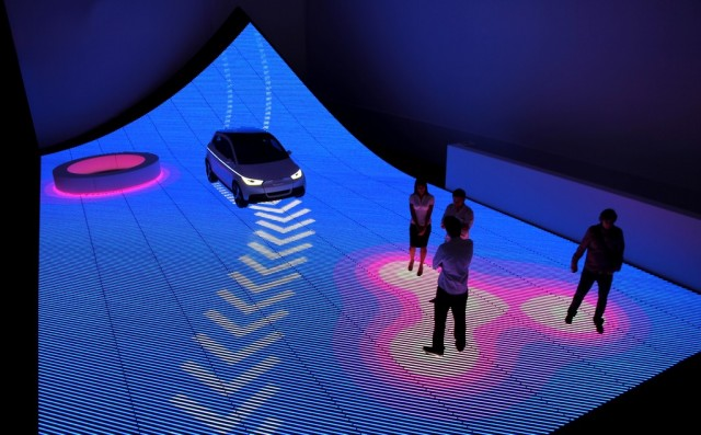 Audi 'Urban Future' exhibit at Design Miami 2011