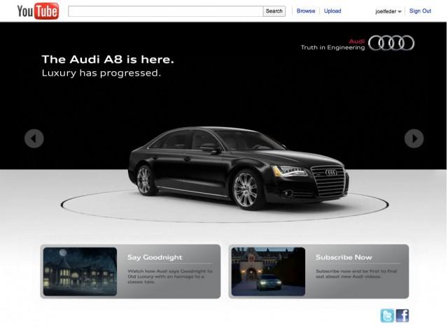 Audi YouTube Channel
