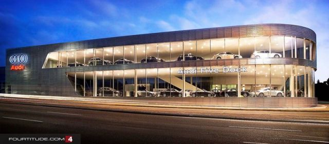 New Audi Terminal in Tokyo Launches Brand's Sales Offensive