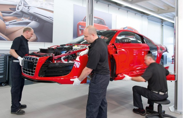 Audi e-tron Neckarsulm Development Center