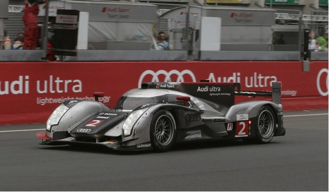 Audi R18 TDI #2 wins 24 Hours of Le Mans