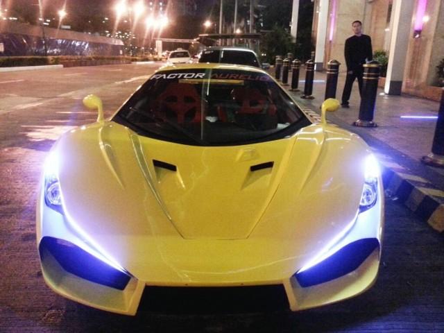 Aurelio supercar