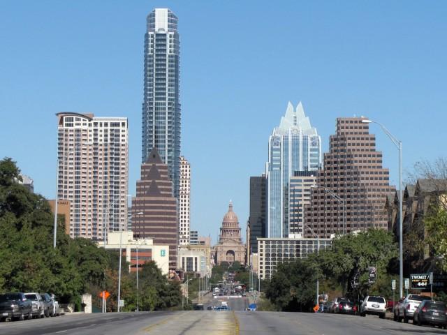 Austin, Texas (by Flickr user milpool79 via Wikimedia)