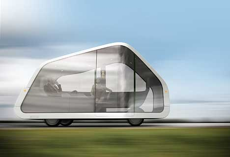 Autonomobile concept by designers Mike and Maaike