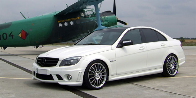 The C63 AMG from Avus is tasteful and refined while still being something out of the ordinary