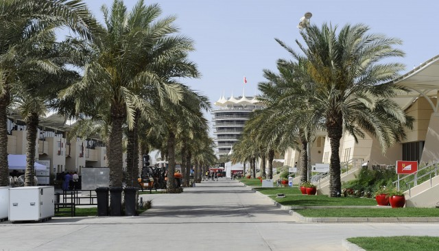 Bahrain International Circuit in Sakhir, home of the Formula 1 Bahrain Grand Prix