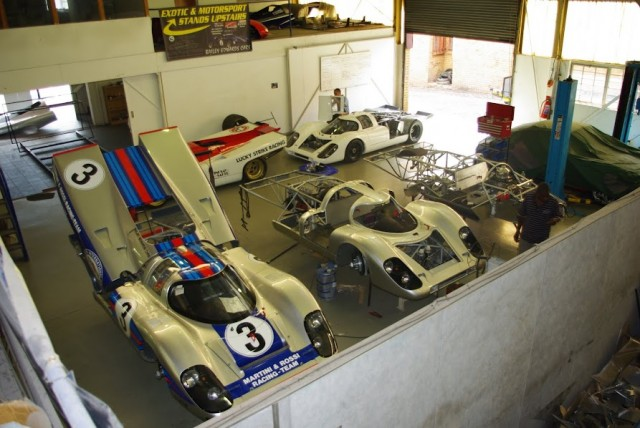 Bailey Cars' factory - image: Bailey Cars