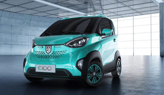 Baojun E100 Gm S Tiny Two Seat Electric Car For China