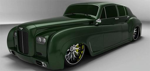Bentley Boys S3 design study