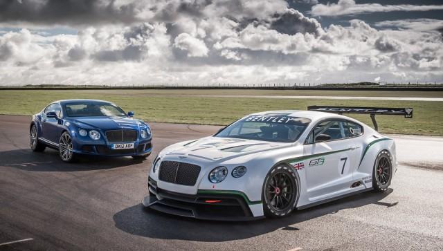 Bentley Continental GT3 race car concept