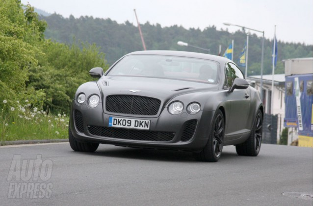 Bentley Continental Supersports out for a test drive