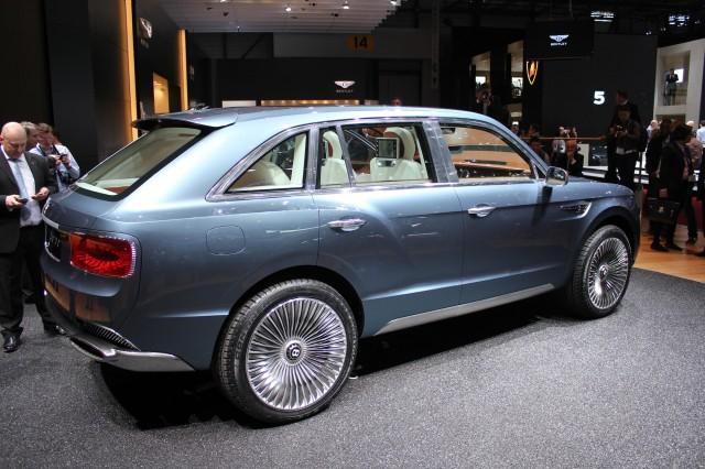 Bentley EXP 9 F Concept live photos, 2012 Geneva Motor Show