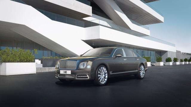 Bentley Mulsanne Hallmark Series Gold