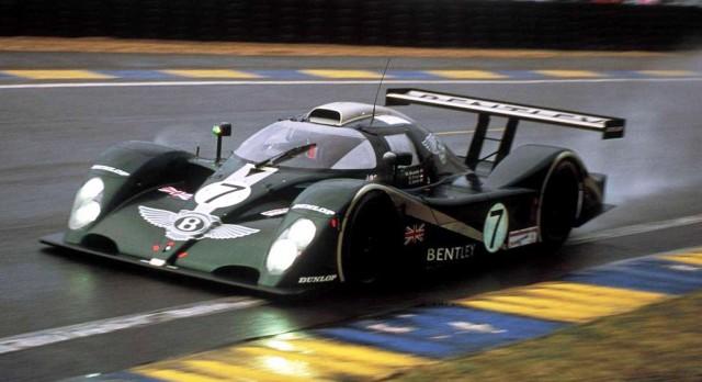 Bentley Speed 8 LMP race car