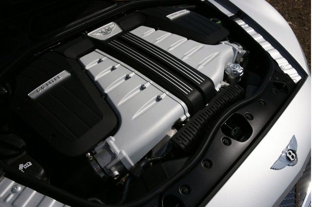Bentley W-12 engine
