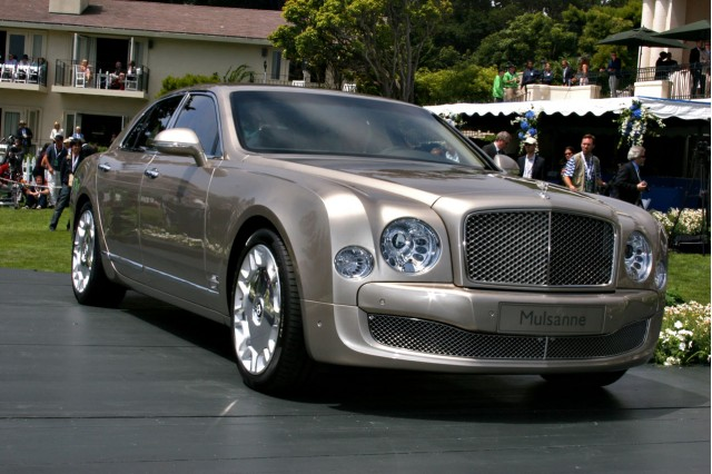 2011 Bentley Mulsanne at the 2009 Pebble Beach Concours d'Elegance